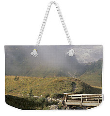 Weekender Tote Bag featuring the photograph Paradise Valley by Sharon Elliott