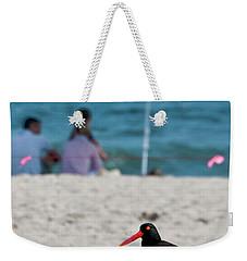 Parenting On A Beach Weekender Tote Bag