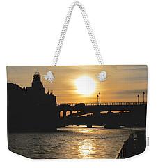 Parisian Sunset Weekender Tote Bag