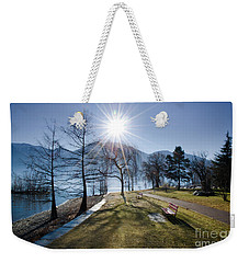 Park On The Lakefront Weekender Tote Bag