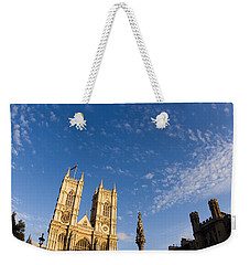 Parliment And Clouds Weekender Tote Bag