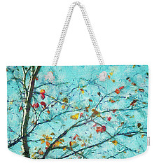 Parsi-parla - D01d03 Weekender Tote Bag by Variance Collections