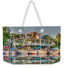 Pascagoula Boat Harbor Weekender Tote Bag