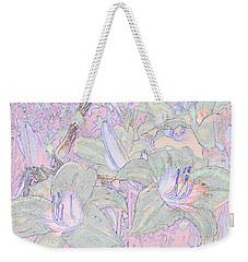 Pastel Lillies Weekender Tote Bag