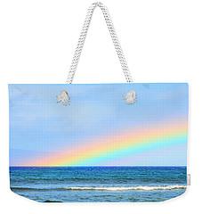 Pastel Rainbow Weekender Tote Bag