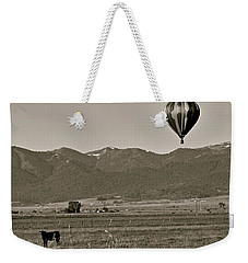 Weekender Tote Bag featuring the photograph Pastoral Surprise by Eric Tressler