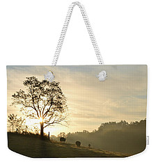 Pasture Sunrise Weekender Tote Bag