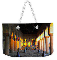 Pawns And Pillars Weekender Tote Bag