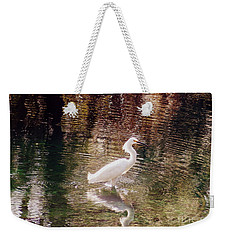 Weekender Tote Bag featuring the photograph Peaceful Waters by Lydia Holly