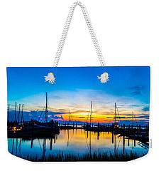 Peacefull Sunset Weekender Tote Bag