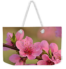Peach Beautiful Weekender Tote Bag