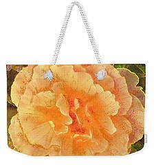 Peach Begonia Weekender Tote Bag