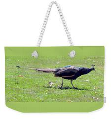 Peacock Striding Weekender Tote Bag