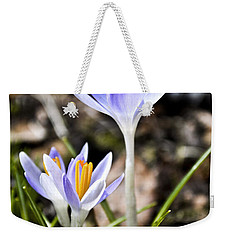 Peaking Spring Weekender Tote Bag