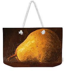 Pear By Knife Weekender Tote Bag