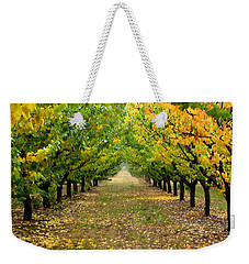 Pear Orchard Weekender Tote Bag by Katie Wing Vigil