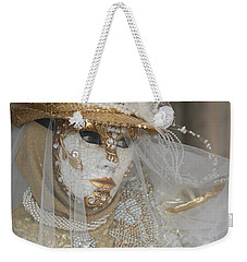 Pearl Bride With Rose 2 Weekender Tote Bag