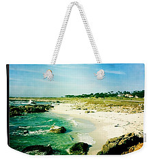 Weekender Tote Bag featuring the photograph Pebble Beach by Nina Prommer