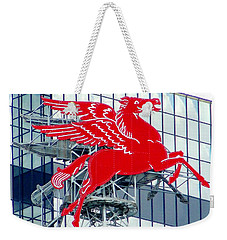 Weekender Tote Bag featuring the photograph Pegasus by Charlie and Norma Brock