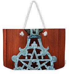 Pentagram Knocker Weekender Tote Bag