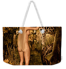 Persuaded Weekender Tote Bag by Lourry Legarde