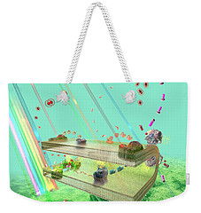 Weekender Tote Bag featuring the digital art Photosynthesis by Russell Kightley