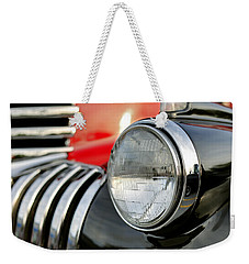 Pickup Chevrolet Headlight. Miami Weekender Tote Bag