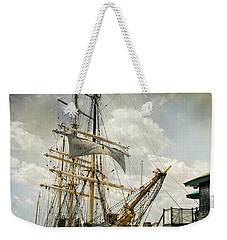 Weekender Tote Bag featuring the photograph Picton Castle by Robin-Lee Vieira
