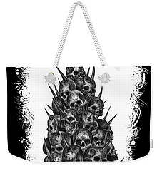 Pile Of Skulls Weekender Tote Bag by Tony Koehl