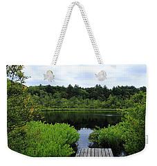 Pine Hole Pond Weekender Tote Bag