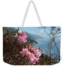 Pink Amaryllis Weekender Tote Bag