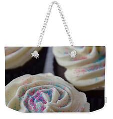 Pink And Blue Sparkles Weekender Tote Bag