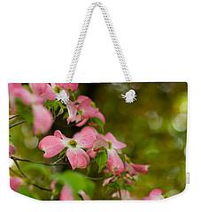 Pink Dogwood Blooms Weekender Tote Bag
