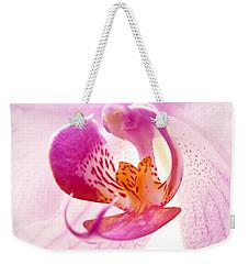 Pink Phalaenopsis Weekender Tote Bag