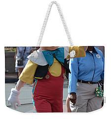 Pinocchio Weekender Tote Bag by Bonnie Myszka