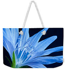 Weekender Tote Bag featuring the photograph Pistil's Of Chicory by Randall Branham