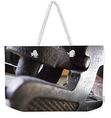 Weekender Tote Bag featuring the photograph Plane by R Muirhead Art