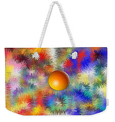 Planet Stand Out Weekender Tote Bag by Alec Drake