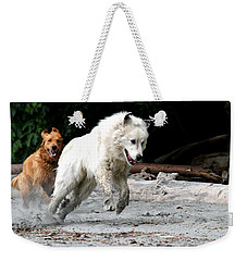 Play Time On The Beach Weekender Tote Bag