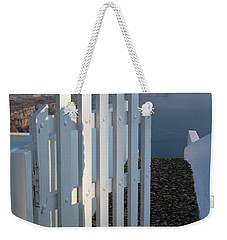 Weekender Tote Bag featuring the photograph Please Come In by Vivian Christopher