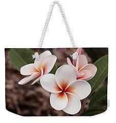 Plumeria   Kona Hawii Weekender Tote Bag