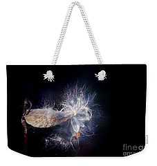 Weekender Tote Bag featuring the photograph Pod In The Wind by Deniece Platt