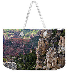 Point Imperial Cliffs Grand Canyon Weekender Tote Bag
