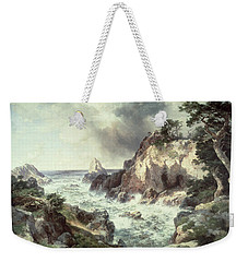 Point Lobos At Monterey In California Weekender Tote Bag