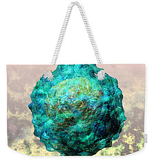 Polio Virus Particle Or Virion Poliovirus 1 Weekender Tote Bag