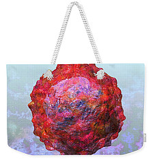 Polio Virus Particle Or Virion Poliovirus 2 Weekender Tote Bag