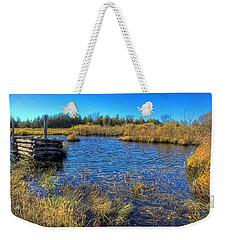 Pond 1 Today.psd Weekender Tote Bag