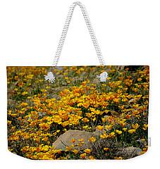 Poppies Everywhere Weekender Tote Bag by Vicki Pelham
