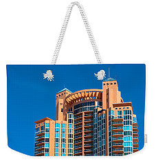 Portofino Tower At Miami Beach Weekender Tote Bag