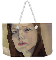Portrait Of Ashley Weekender Tote Bag
